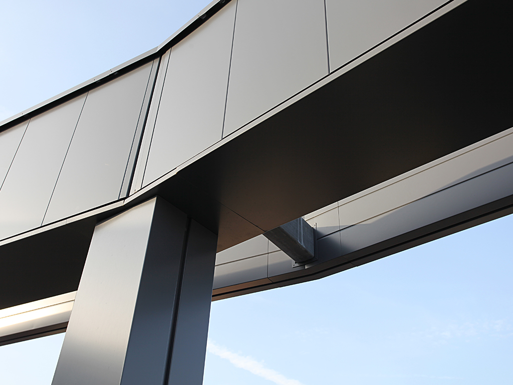 guttercrest's metal cladding columns, fascia and cappings
