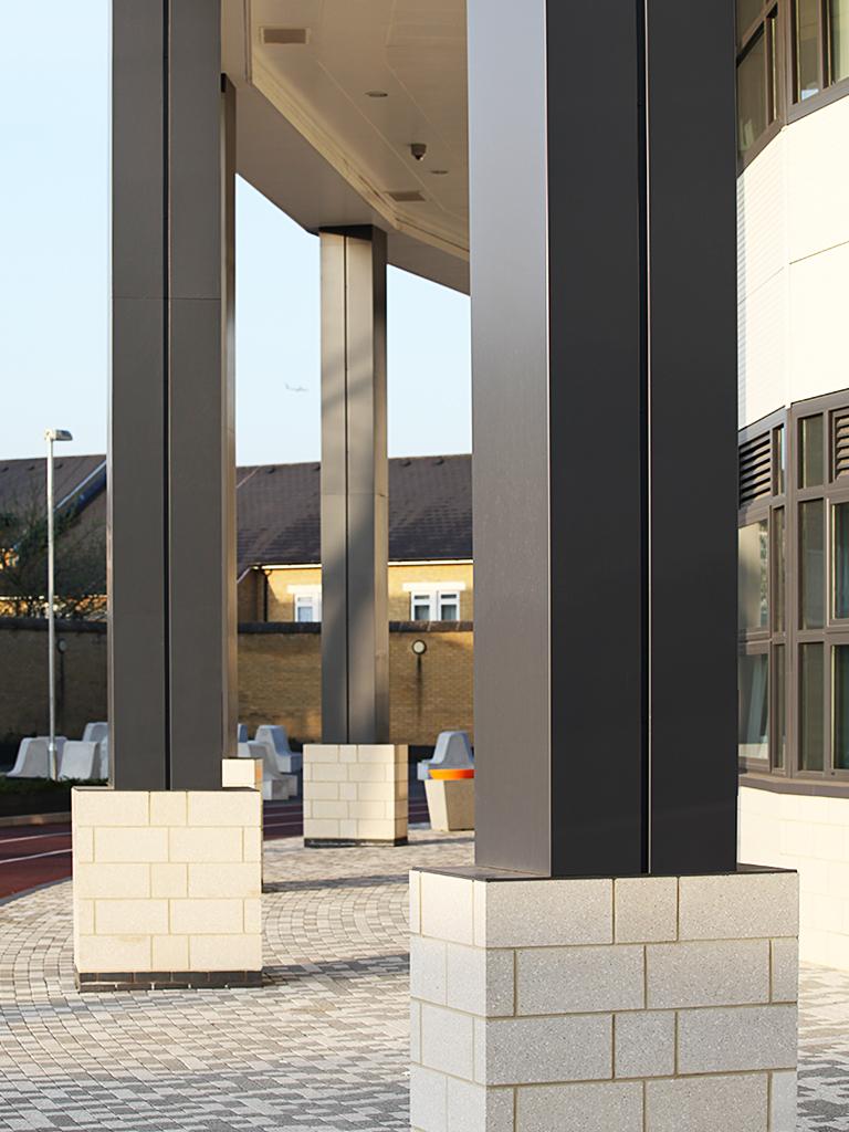 conceal by guttercrest's aluminium rectangular columns casings