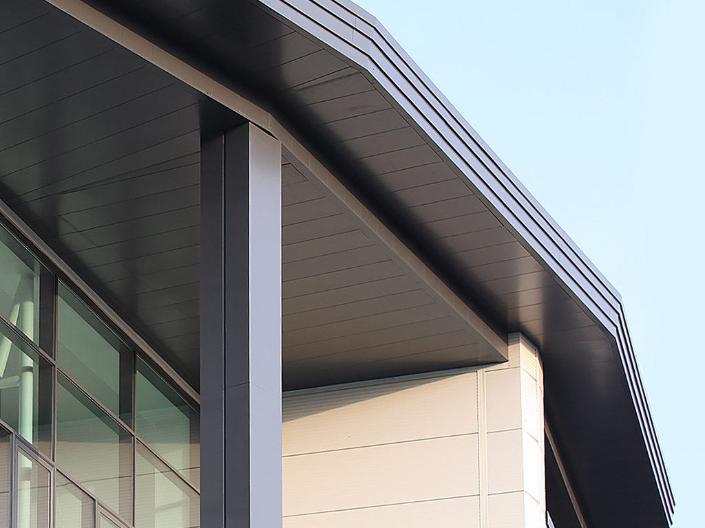 conceal rectangular aluminium column casings for hammersmith academy